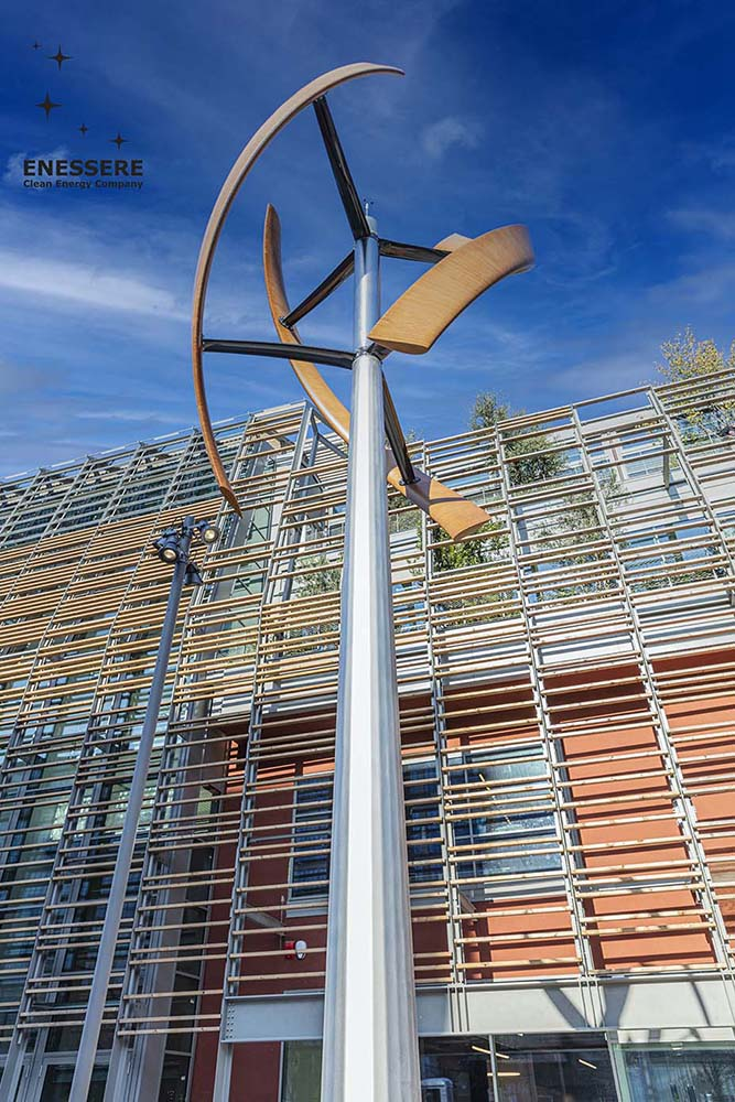 Enessere Green Pea Hercules Wind Turbine mini eolico