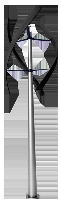 modelli di micro eolico enessere hercules wind turbine inox